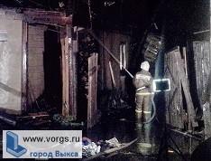 В Борковке произошел масштабный пожар