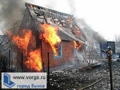 В садоводческом товариществе «Строитель» сгорела дача
