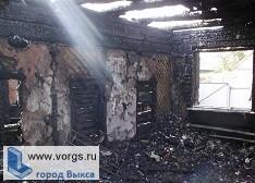 В Новодмитриевке произошел пожар