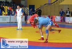 На первенстве по самбо 2 место занял Степан Щепкин