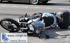 Парень из Выксы на мотоцикле стал виновником ДТП
