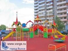 В Выксе обустроят детские площадки