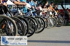 В Выксе прошел велопробег