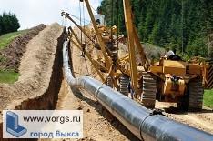 В Мотмосе будут стоить газопровод