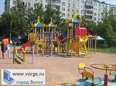 В поселке Шиморское появилась новая площадка