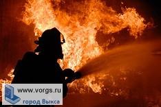 В Выксе произошел очередной пожар