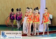 В Павлово состоялось первенство по художественной гимнастике