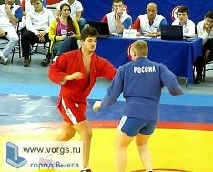 В Кстово проходят соревнования по самбо среди юниоров